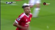 Нюкасъл Юнайтед - Манчестър Юнайтед 3:3, 21 кръг, Висша лига