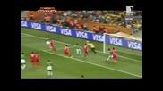 Северна Корея - Кот дивоар 25.06.2010 второ полувреме част 1