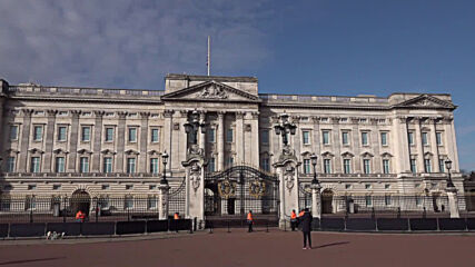 UK: Flag remains at half-mast on Buckingham Palace following Prince Philip's death