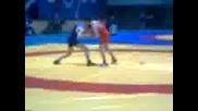 Йордан Анев 1/4 финал Длош Бургас 2012