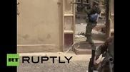 Шиитски бойци в битка с ИД за рафинерията Байджи