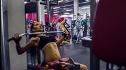 Tattoomodelsearch.com Anzhelika Anderson @ Alex Fitness, Russia / Анжелика Андерсон