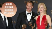 Nicole Kidman defends her kiss with Alexander Skarsgård