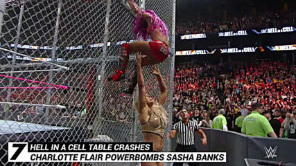 Punishing Hell in a Cell table crashes: WWE Top 10, Oct. 21, 2020