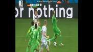 Германия 2:1 Алжир (бг аудио) Мондиал 2014
