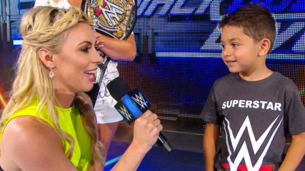 Sarah Schreiber hosts a Superstar impression contest: WWE.com Exclusive, July 16, 2019