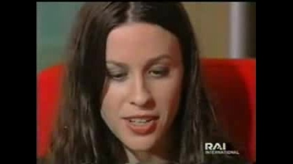 Alanis Morissette - Interview In Vaticano 2000