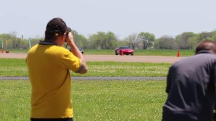 Corvette vs Lambo