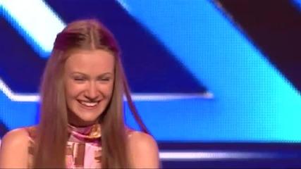 Анастасия Димитрова - X Factor (09.09.2014)