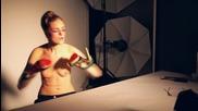 Glint magazine - making of - Shooting photo studio Daguerre