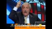 Луд коментатор, фен на Милан, гризва дръвцето в 93 - а минута (милан 2:2 Наполи)