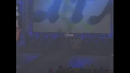 RAW 2002 - HardyZ, Edge and Christian - entrance !!!