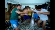 Футболни таланти на Велбъжд в Gangnam Style