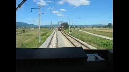 Два Влака Се Изпреварват