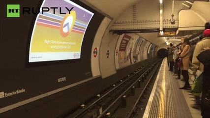 UK: Germanwings remove 'tasteless' adverts from London Underground