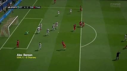 Fifa 14 - Най-добрите голове за седмицата - Рунд 22