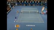 Nadal - Federer, Australian Open 2009 Final Highlights part 1/2