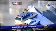 Луд краде коли по магистралата ,точно като в Gta