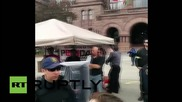 Canada: PEGIDA hold nation's first ever protest in Toronto