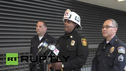 USA: 9-year-old girl and two others injured after car crashes into LAX