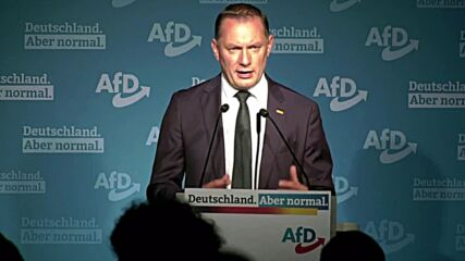 Germany: AfD's Chrupalla says Union 'punished for 16 years of Merkel' after exit polls released