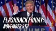 Flashback Friday: November 9th in History
