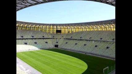 """Стадионите на, които ще се играят срещите от """"евро 2012"""" +субтитри"""