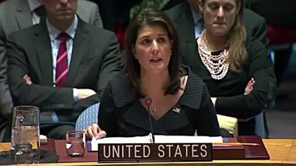 UN: Haley claims Trump's peace plan is more beneficial for Palestinians