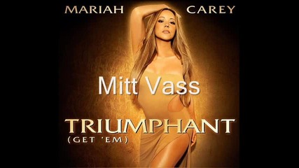 Промо! Mariah Carey Single- Triumphant -vintage-throwback-edit