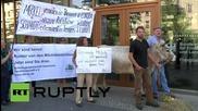 Германия: Фермери се събраха пред Министерството на земеделието в протест срещу цените