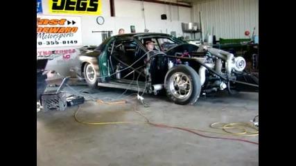 яката количка-1900 Hp twin turbo Outlaw 10.5 car
