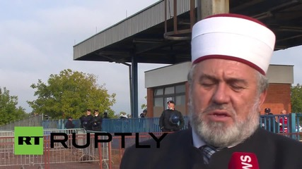 Croatia: Imam joins with refugees at Opatovac to mark Eid al-Adha