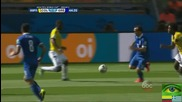 Колумбия 3 - 0 Гърция // F I F A World Cup 2014 // Colombia 3 - 0 Greece // Highlights