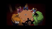 Отмъстителите: Най-могъщите герои на Земята / Игра на покер с членове от Фантастичната Четворка