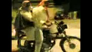 Funny Bike Stunt