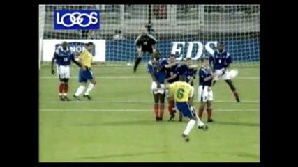 !!! гол на Roberto Carlos !!! Hq