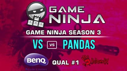 Game NInja CS:GO #1 - VS vs Pandas in Ambush