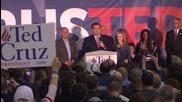 USA: Ted Cruz celebrates Iowa win after Trump defeat