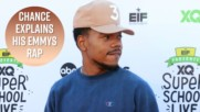 Chance the Rapper's Emmy rap was all about white people