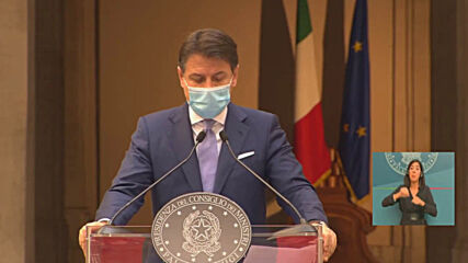 Italy: PM Conte announces series of closures and restrictions to fight COVID-19 spread
