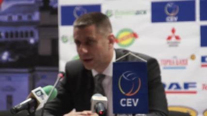 Радо Стойчев: Не съм притеснен за духа и морала на отбора