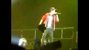 Justin Bieber - Eenie Meenie - With Bluey Robinson - Live - Newcastle 12 March 2011