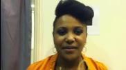 Прея Осасей - Споделя емоциите си след концерта 26.10.2011