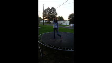 hot girl backflip fail