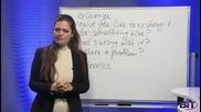 Аз уча английски език . Сезон 3, епизод 138 , пазаруване на български