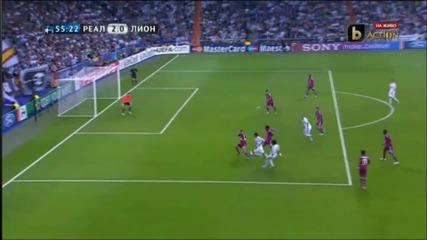 Всички Голове от мача Реал М - Лион [ Шапмионска Лига ] 18.10.2011 ! Бг Аудио ! [ H D ]