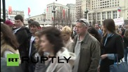 Russia: Muscovites commemorate Odessa tragedy with floral tributes at 'Hero Cities' memorial