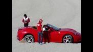 Фернандо Алонсо и Фелипе Маса с Ферари Калифорния