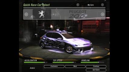 Need For Speed Underground 2 - My Cars