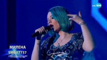 Екстравагантната Милена взриви публиката с Don't Let Me Down - X Factor Live (26.11.2017)